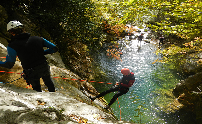 Canyoning In Montenegro - Medjurjecje Canyon
