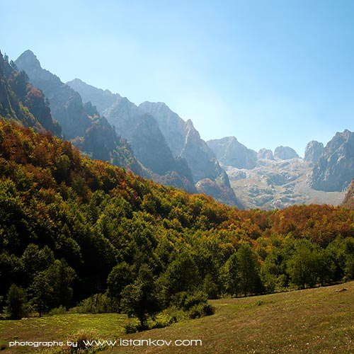 National Park Prokletije, the magnificent biosphere reservat at border between Albania, Kosovo and Montenegro